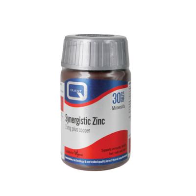 Zinco Sinérgico + Cobre 15mg - 30 Comprimidos Quest