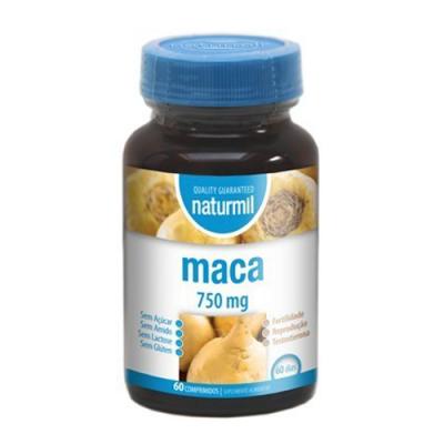 Maca 750mg 60 Comprimidos Naturmil