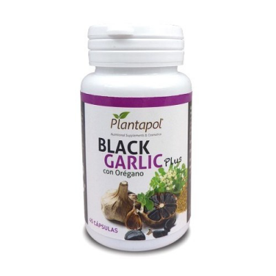 Black Garlic Plus Orégano 45 Cápsulas Plantapol