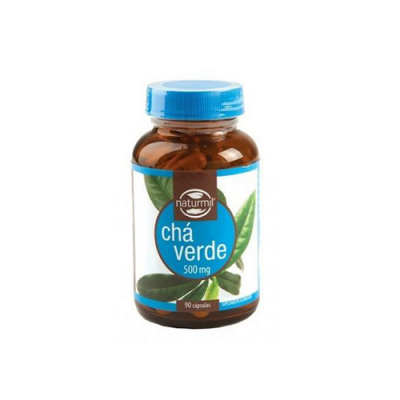 Chá Verde 500mg - 90 Cápsulas Naturmil