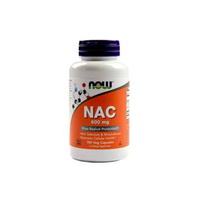 NAC 600mg - 100 Cápsulas Now
