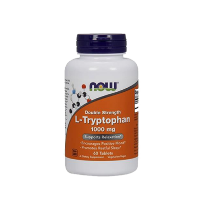 L-Tryptophan 1000mg - 60 Comprimidos Now