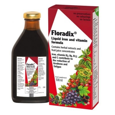 Floradix Elixir 500ml Solmirco