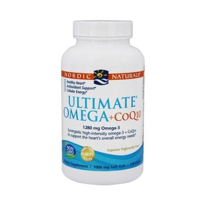 Ultimate Omega + CoQ10 - 60 Cápsulas Nordic Naturals