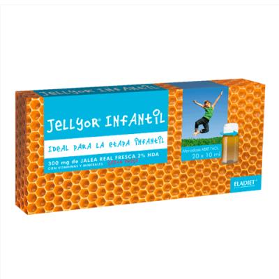Jellyor Infantil 20 Ampolas Eladiet