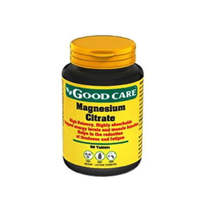 Citrato de Magnésio 60 Comprimidos Good Care