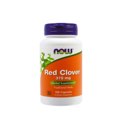 Red Clover 375mg - 100 Cápsulas Now