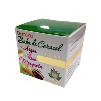 Elegante Premium Creme Baba de Caracol Argan Rosa Mosqueta FJCampos
