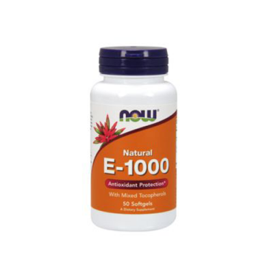 Natural E-1000 - 50 Cápsulas Now