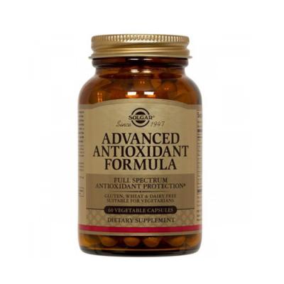 Fórmula Avançada de Antioxidantes 60 Cápsulas Solgar
