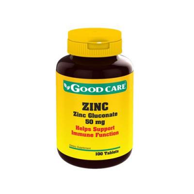 Zinco 50mg - 100 Comprimidos Good Care