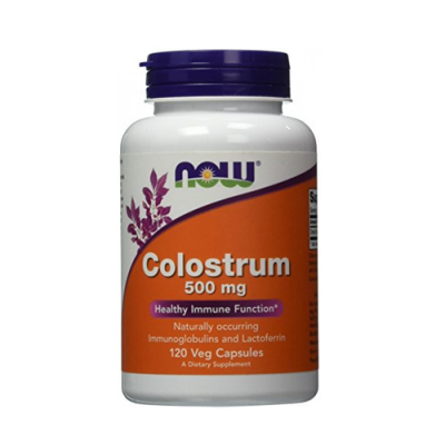 Colostrum 500mg 120 Cápsulas Now