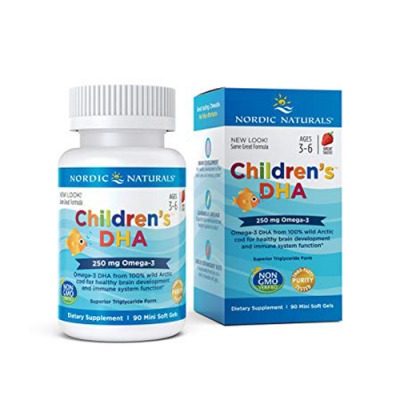 Children's DHA Omega 3 - 90 Cápsulas Nordic Naturals