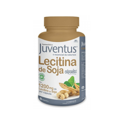 Juventus Lecitina de Soja 1200mg - 90 Cápsulas Farmodiética