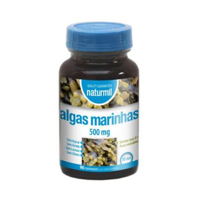 Algas Marinhas 500mg 90 Comprimidos Naturmil