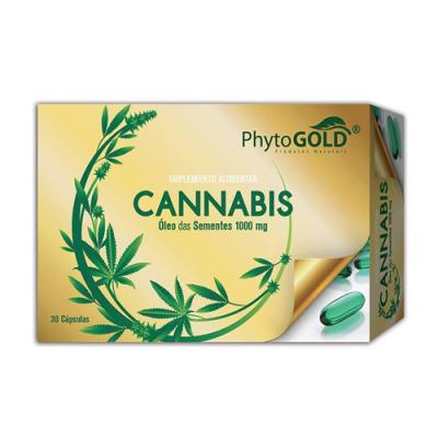 Óleo Sementes de Cannabis 1000mg - 30 Cápsulas PhytoGold