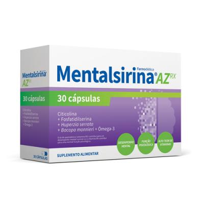 Mentalsirina AZ Rx - 30 Cápsulas Farmodiética