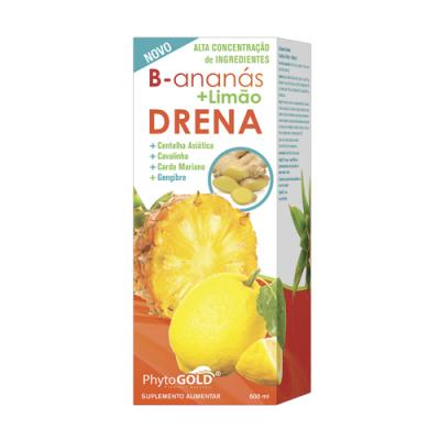 B Ananás + Limão Drena - 500ml PhytoGold
