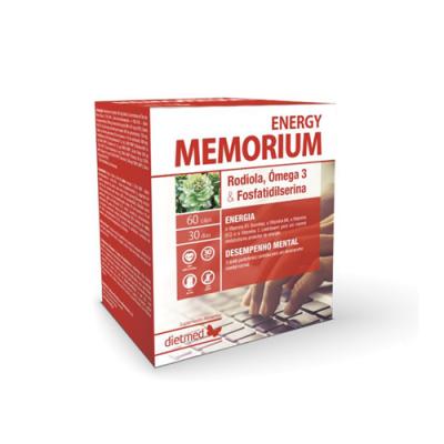Memorium Energy - 60 Cápsulas Dietmed