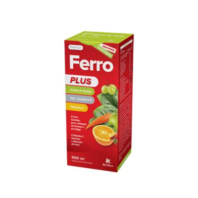 Ferro Plus Xarope 500ml - Bio-Hera