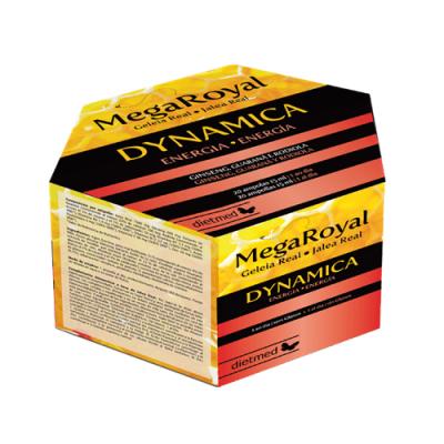 Mega Royal Dynamica - 20 ampolas Dietmed