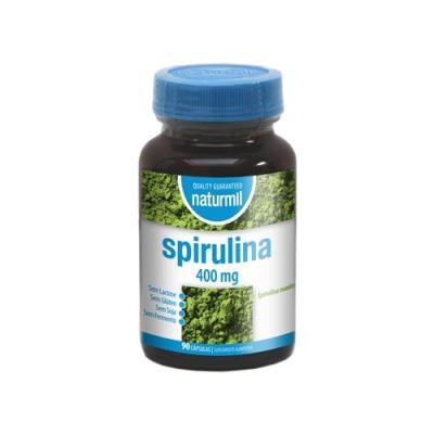 Spirulina 400mg - 90 Cápsulas Naturmil