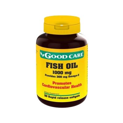 Óleo de Peixe 1000mg - 50 Cápsulas Good Care