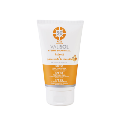 Valisol Creme Solar Facial Família SPF 50 - 100ml