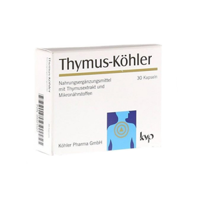 Thymus 30 Cápsulas - Kohler KVP