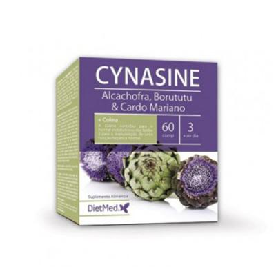 Cynasine Alcachofra, Borututu e Cardo Mariano 60 Comprimidos Dietmed