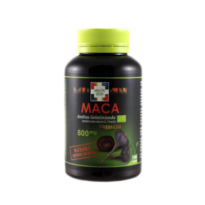 Maca 800mg - 100 Cápsulas Amazon Green