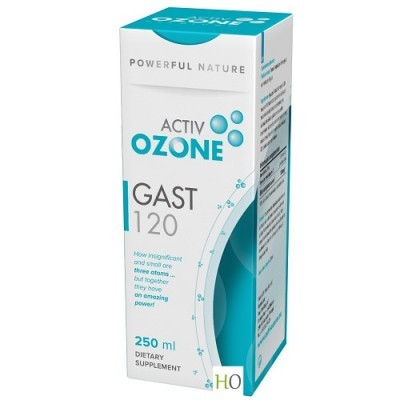 Active Ozone Gast120 Xarope 250ml