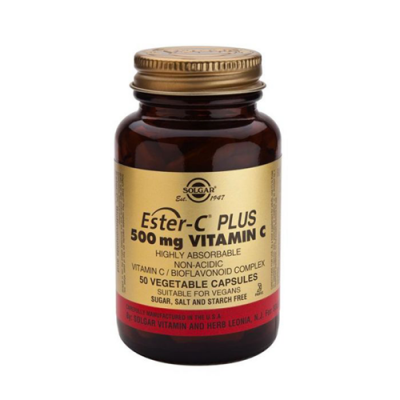 Ester-C Plus Vitamina C 500mg - 50 Cápsulas Solgar