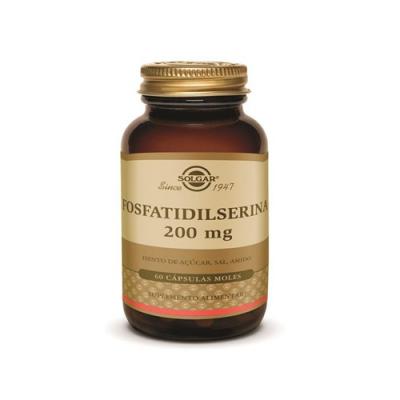 Fosfatidilserina 200mg 60 Cápsulas Solgar