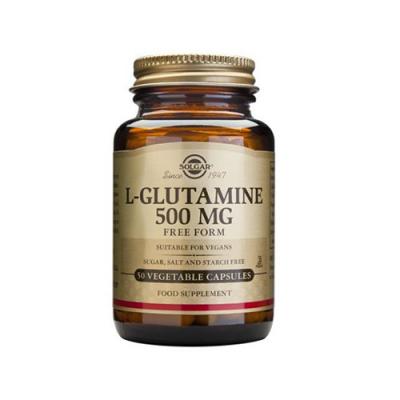 L-Glutamina 500mg - 50 Cápsulas Solgar
