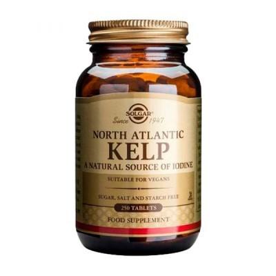 Algas do Atlântico Norte 250 Comprimidos Solgar