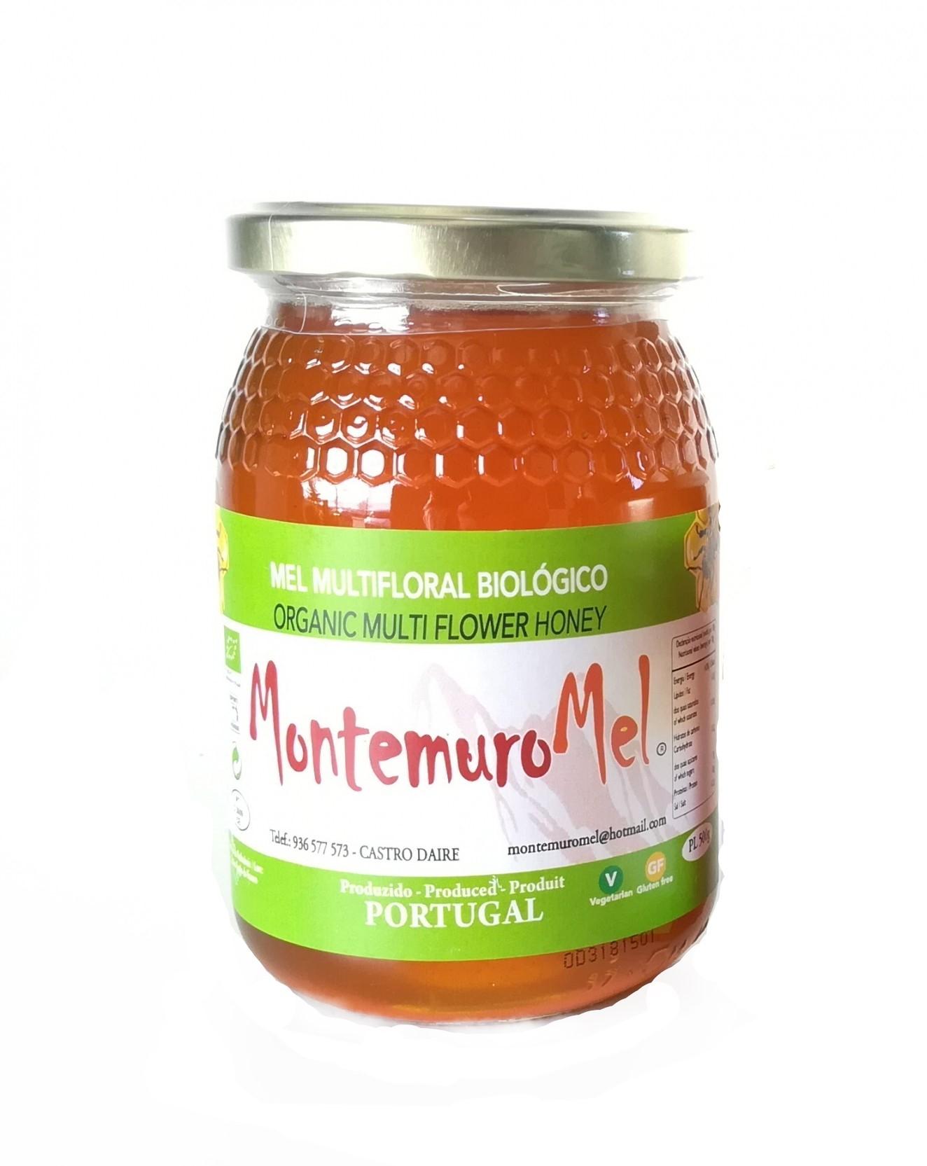 Mel Multifloral BIO - Serra do Montemuro 500g
