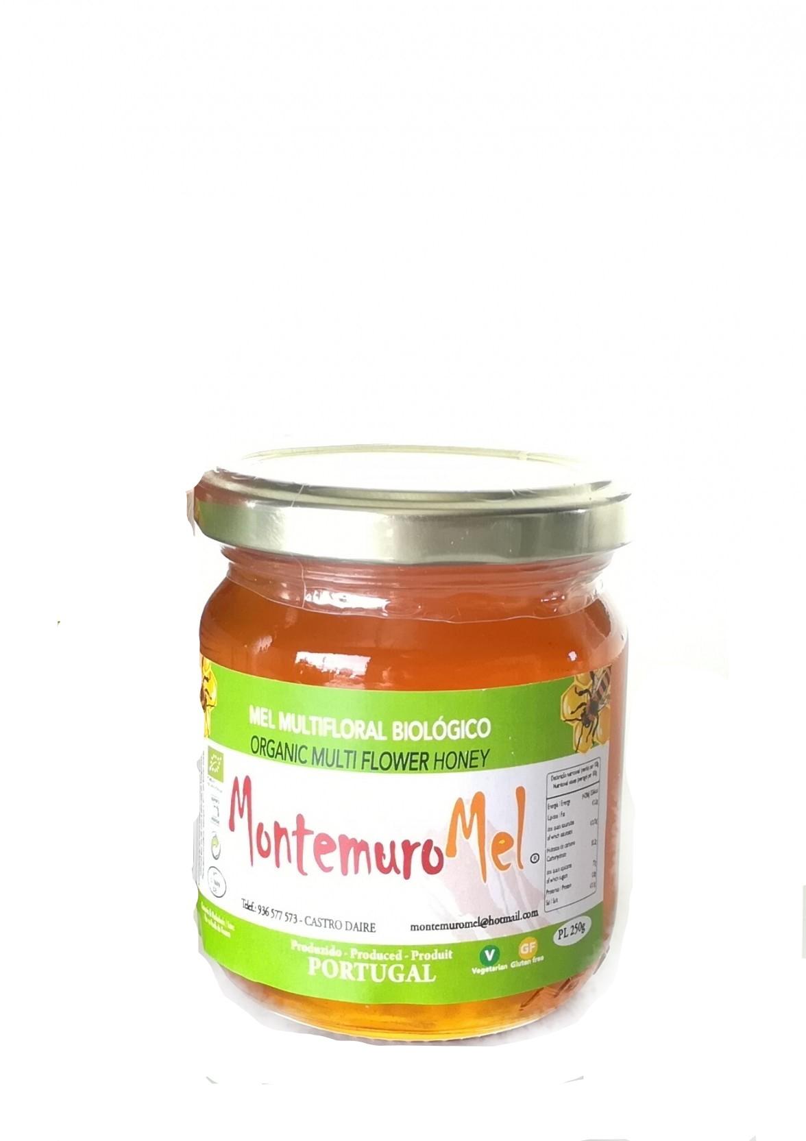 Mel Multifloral BIO - Serra do Montemuro 250g