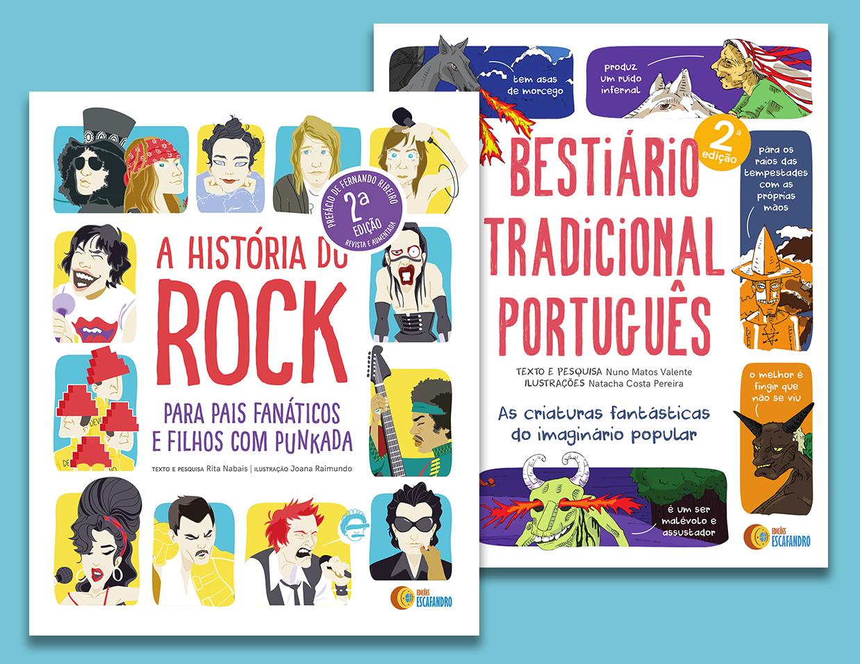 A História do Rock + Bestiário Tradicional Português