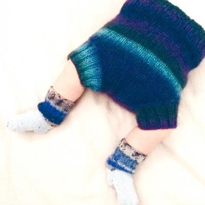 Capa de lã/wool soaker