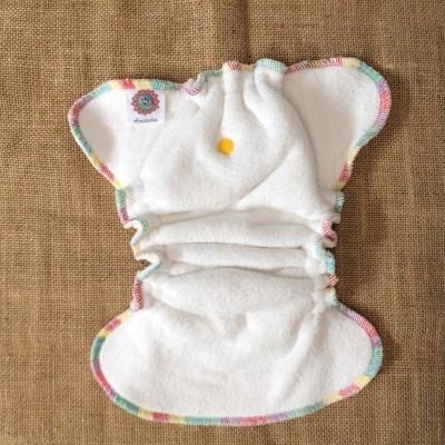 Fluffy rainbow snapless recém-nascidos/newborn fluffy rainbow snapless