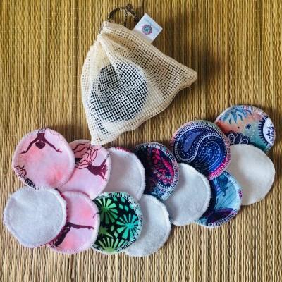 Discos desmaquilhante reutilizáveis/Reusable facial rounds