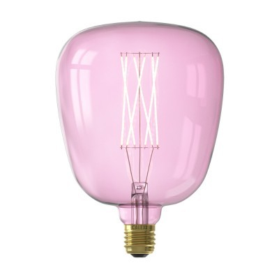 Lâmpada LED Calex Kiruna rosa dimável 4w 200lm E27
