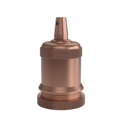 Suporte da lâmpada Calex E27 de alumínio cobre mate 250V 60W
