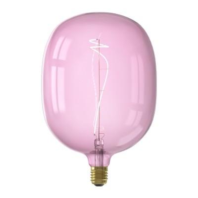 Lâmpada LED Calex Avesta quartzo rosa dimável 4w 150lm 2000K