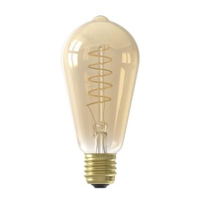 Lâmpada LED Calex dimável com filamento rústico 220-240v 4w 400lm E27