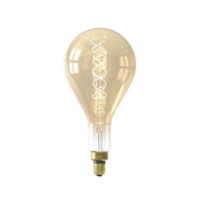Lâmpada LED Calex Splash Gold regulável com filamento E27 4w 200lm 2100K