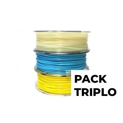 Pack Triplo Filkemp (PLN/PETG/NYLON)