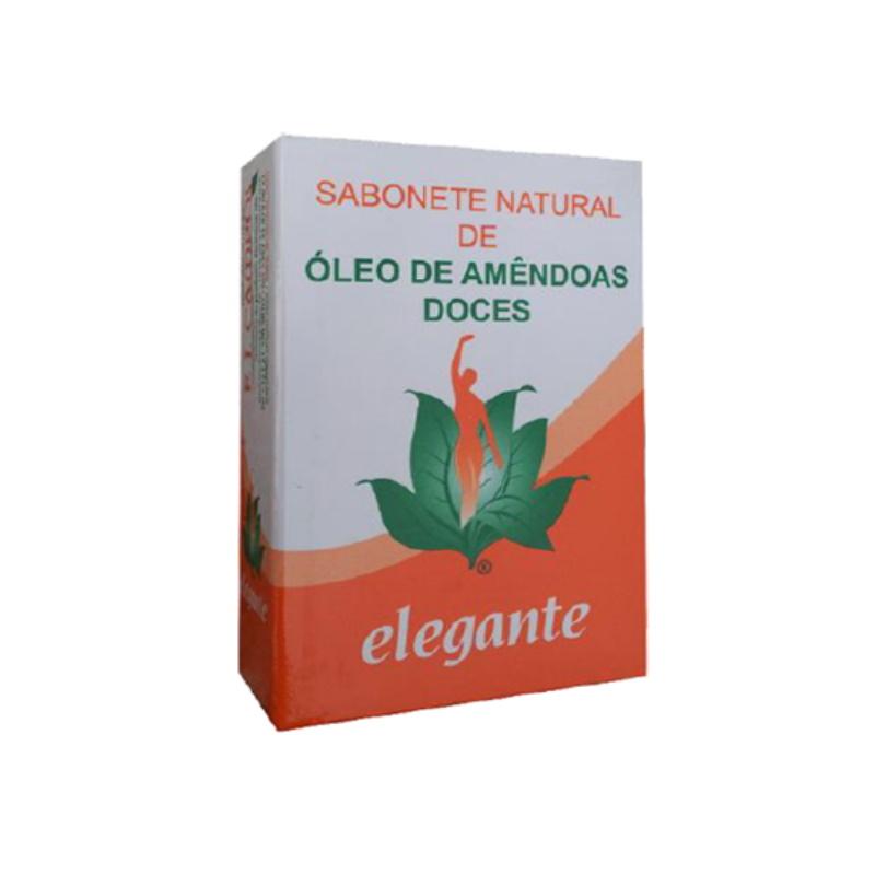 Elegante Sabonete Óleo de Amendoas Doces
