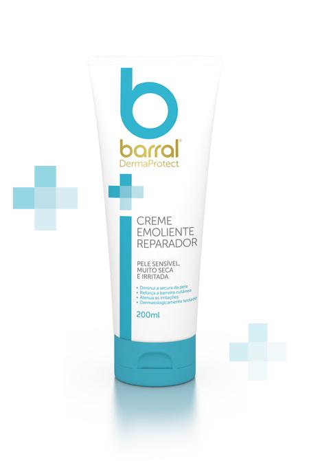 Barral - Creme Emoliente Reparador, 200ml